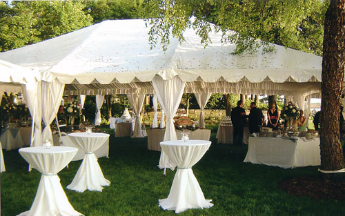For Outdoor Celebrations Canopy Rentals Very Useful