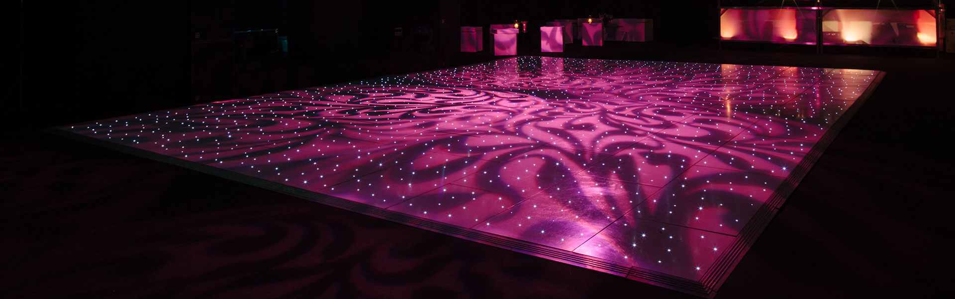 Dance Floor Staging in Darien