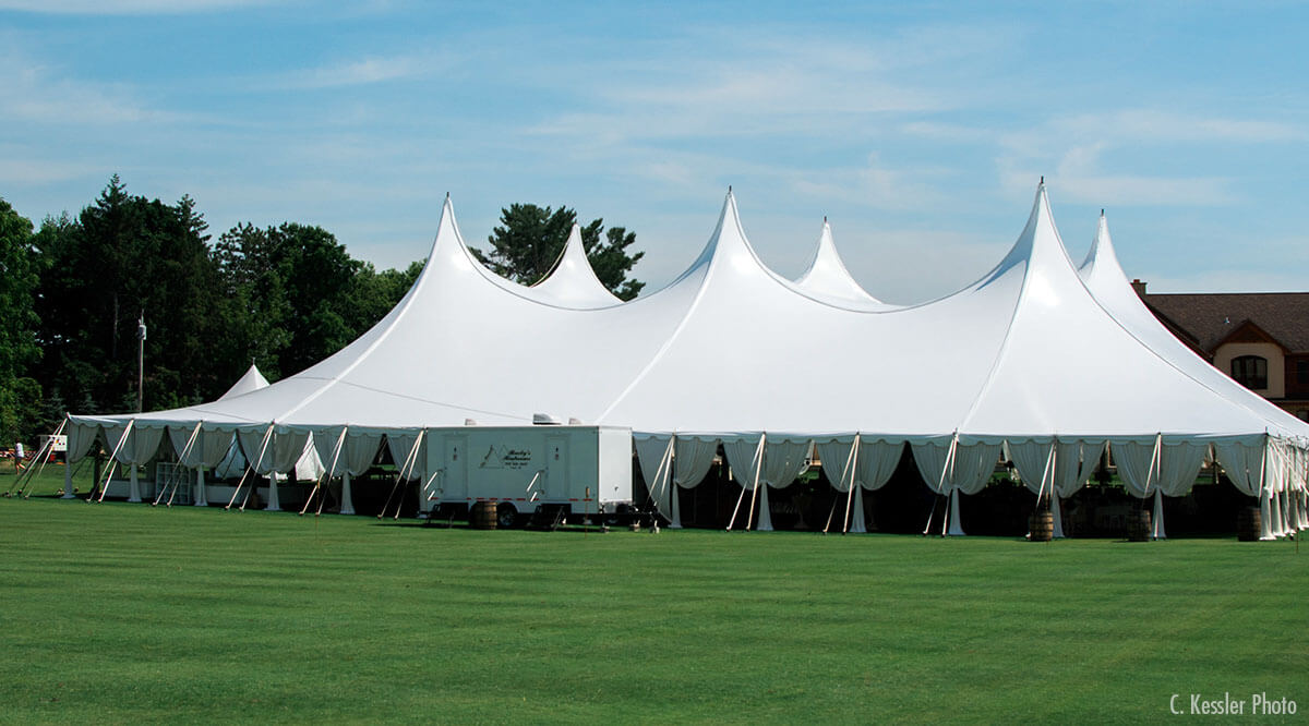 Pole Tents in Schaumburg